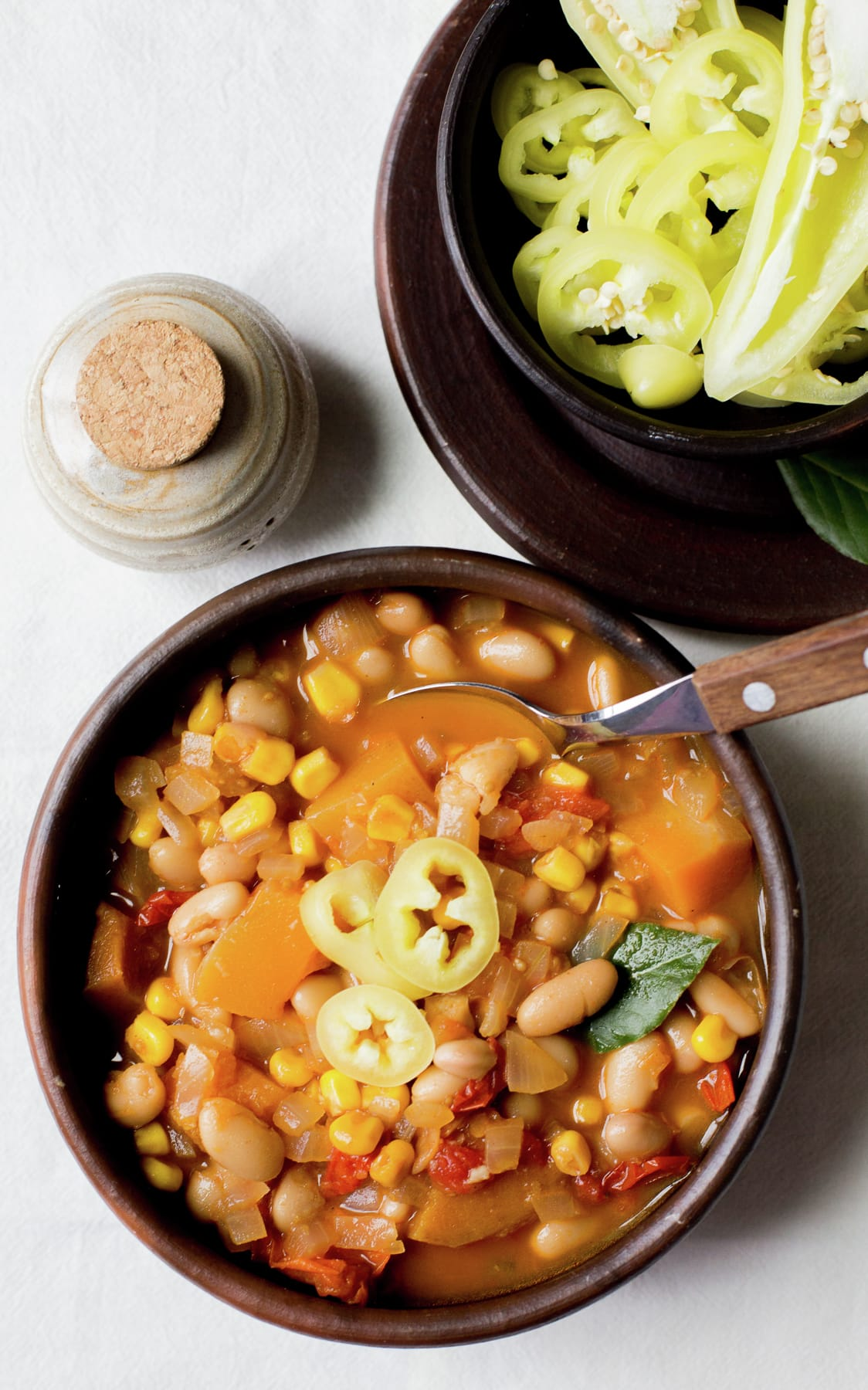 "Chilean Bean Stew ""Porotos Granados"""