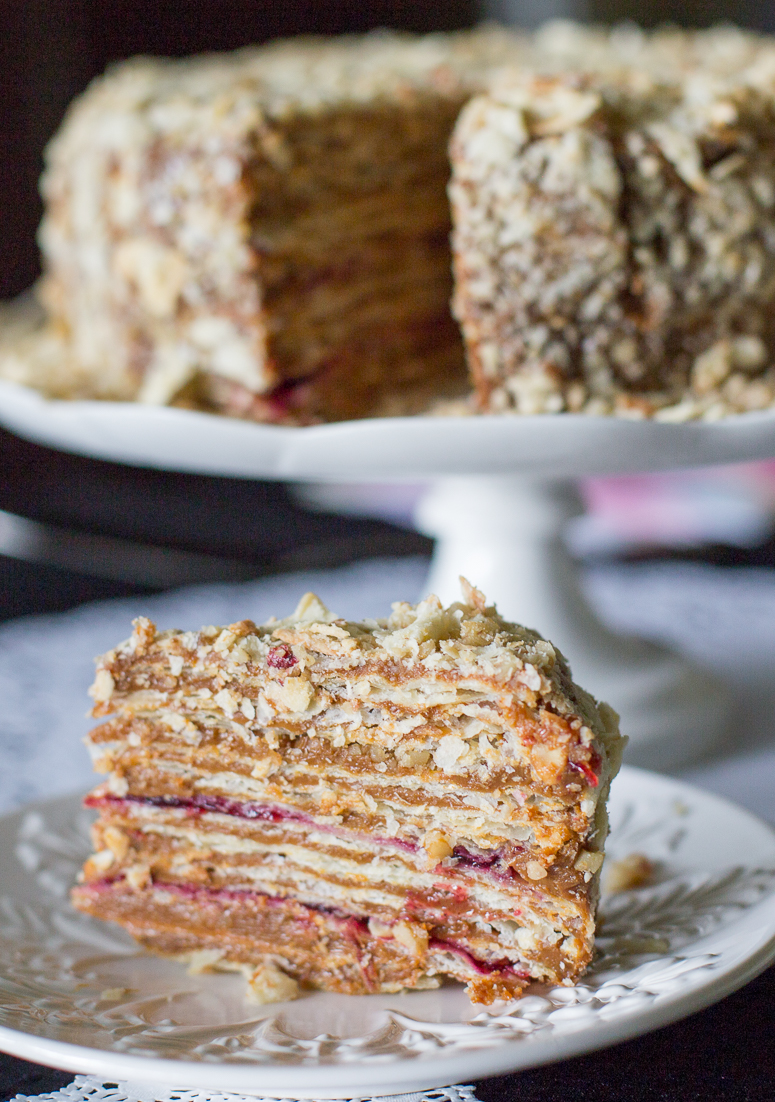 Chilean Thousand Layers Cake