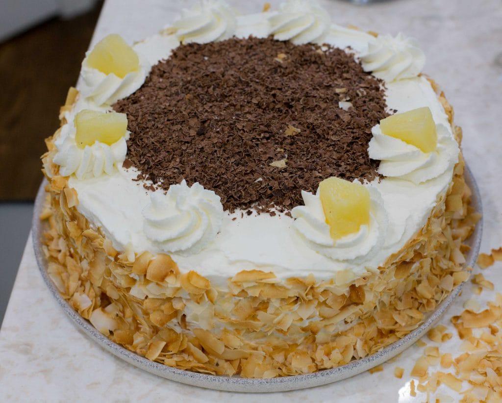 Chilean Pineapple Cake