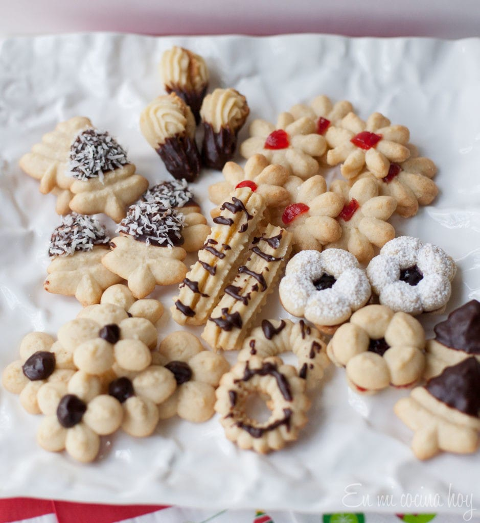 High Tea Cookies or Cookie Press Cookie