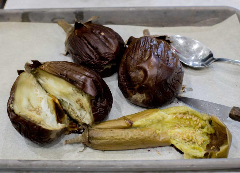 Eggplant dip: Baba Ganoush