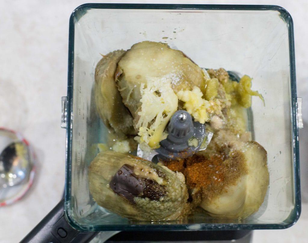 Pasta de berenjenas o Baba Ganoush