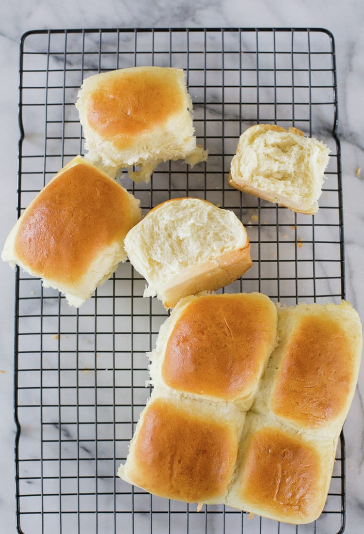 Quick Hamburger Buns or Sliders Buns