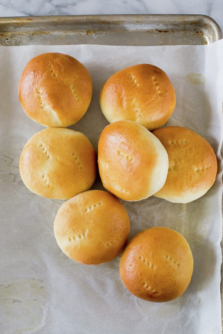 Quick Hamburger Buns