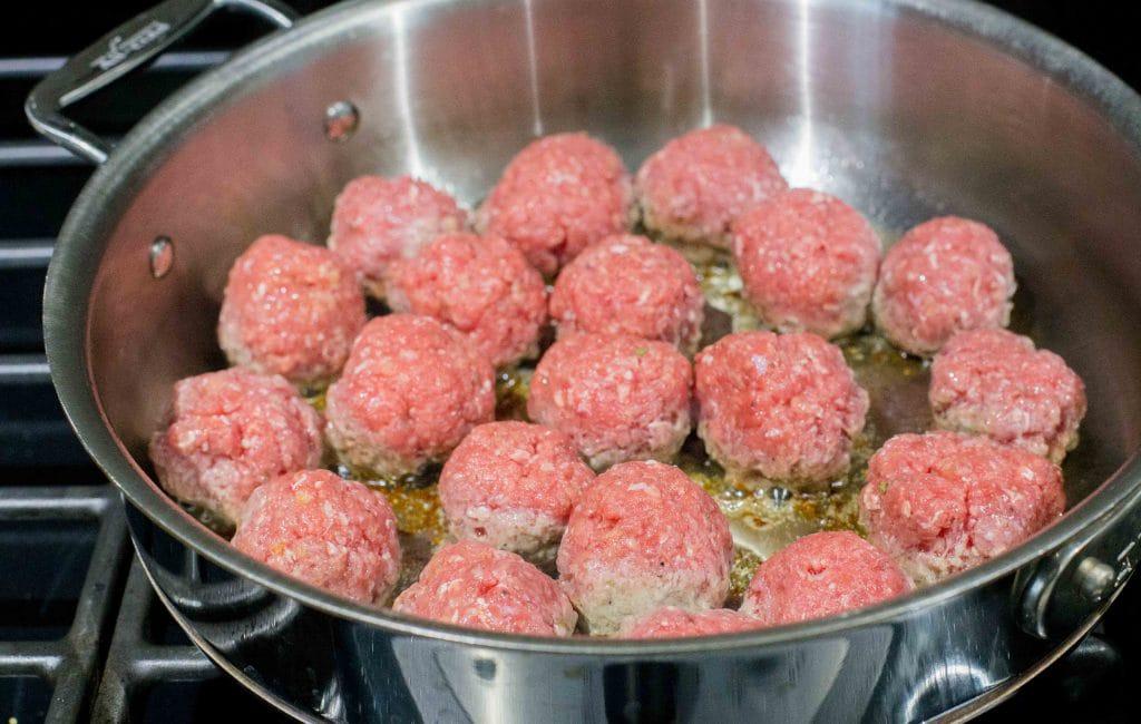 Albóndigas de carne molida, receta chilena