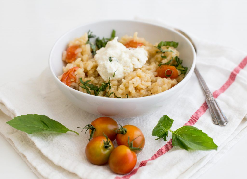 Summer Risotto with Tomatoes