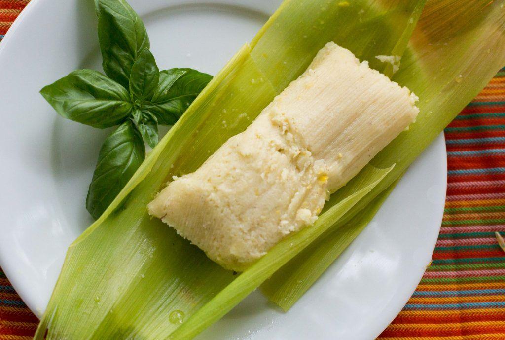 Chilean Humitas o Tamales de Elote